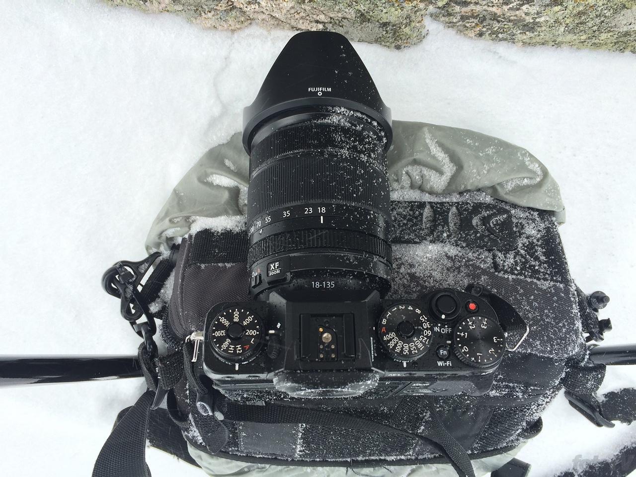 Fujifilm X-T1 a megpróbáltatáso közepedte