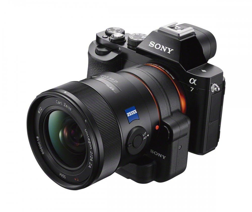 Sony LA bajonett adapter Alpha 7 vázon
