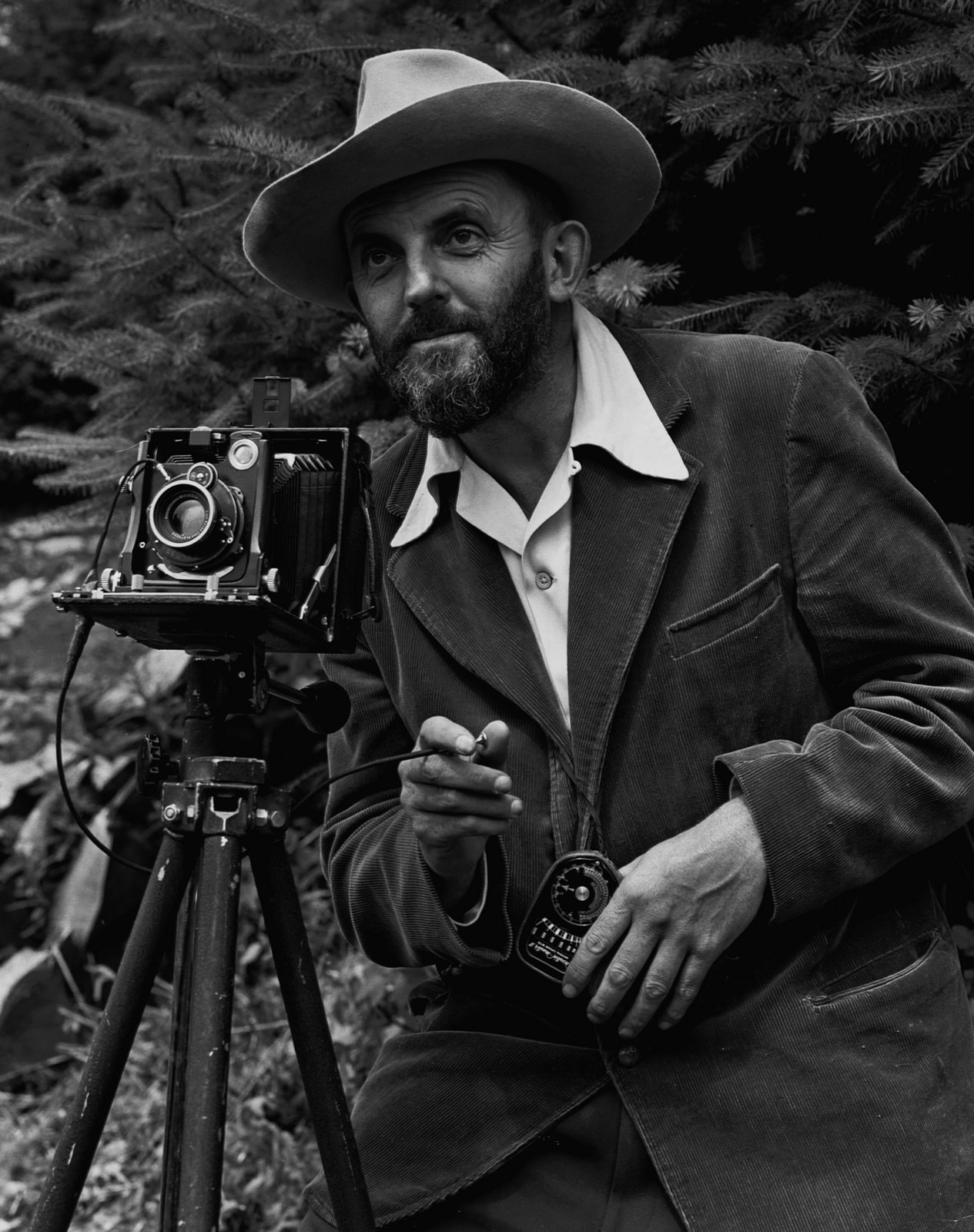 J. Malcolm Greany: Ansel Adams and camera
