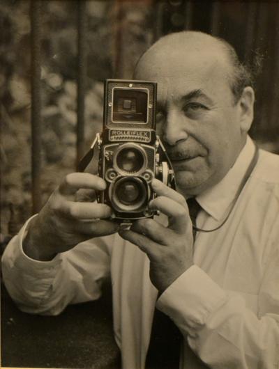 Kép Almásy Pál fotográfusról