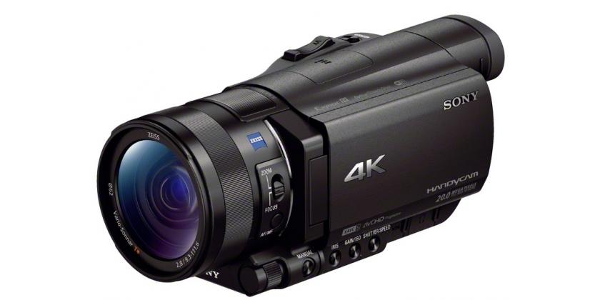 Sony FDR-AX100 E videókamera