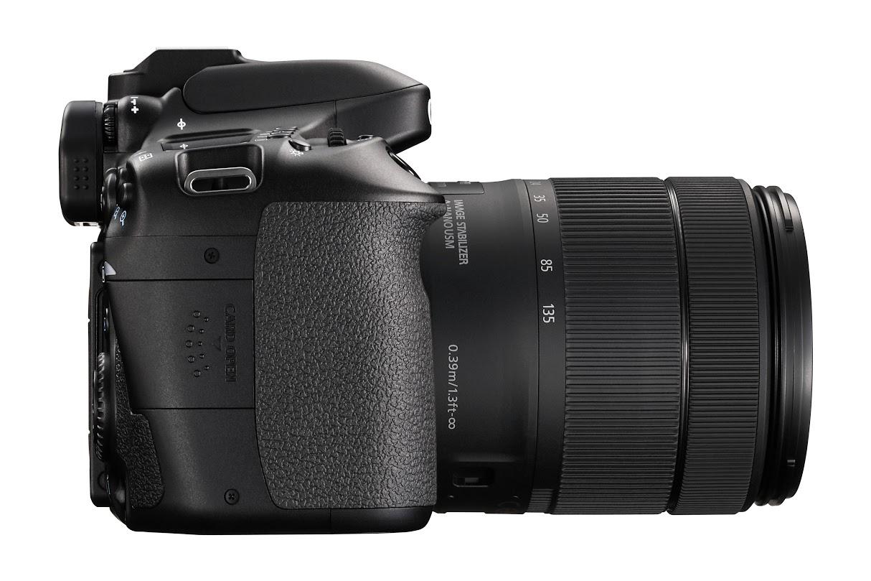 A Canon EOS 80D időjárássálló szigeteléssel rendelkezik.