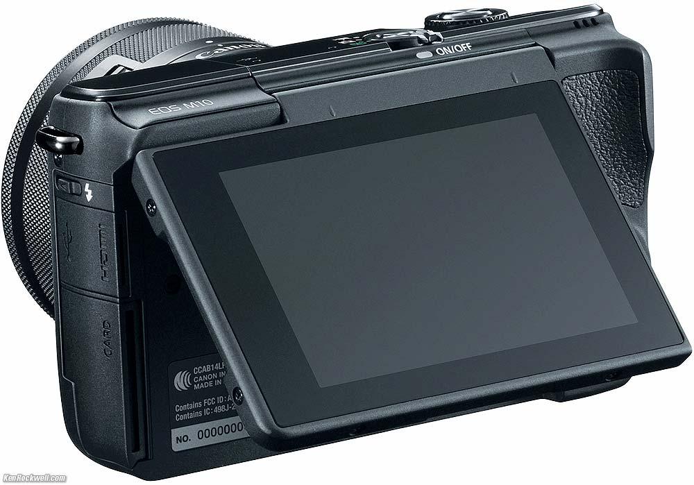 Canon EOS M10 a szép képek készítéséhez DIGIC 6 processzort kapott.