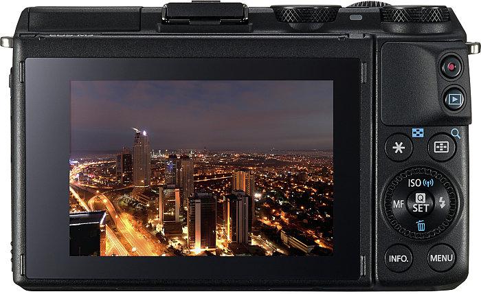 Canon EOS M3 új Hybrid CMOS AF III fókuszrendszert kapott.