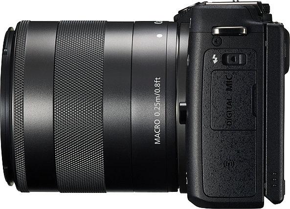 Canon EOS M3 érzékenysége ISO 100 - 12800.