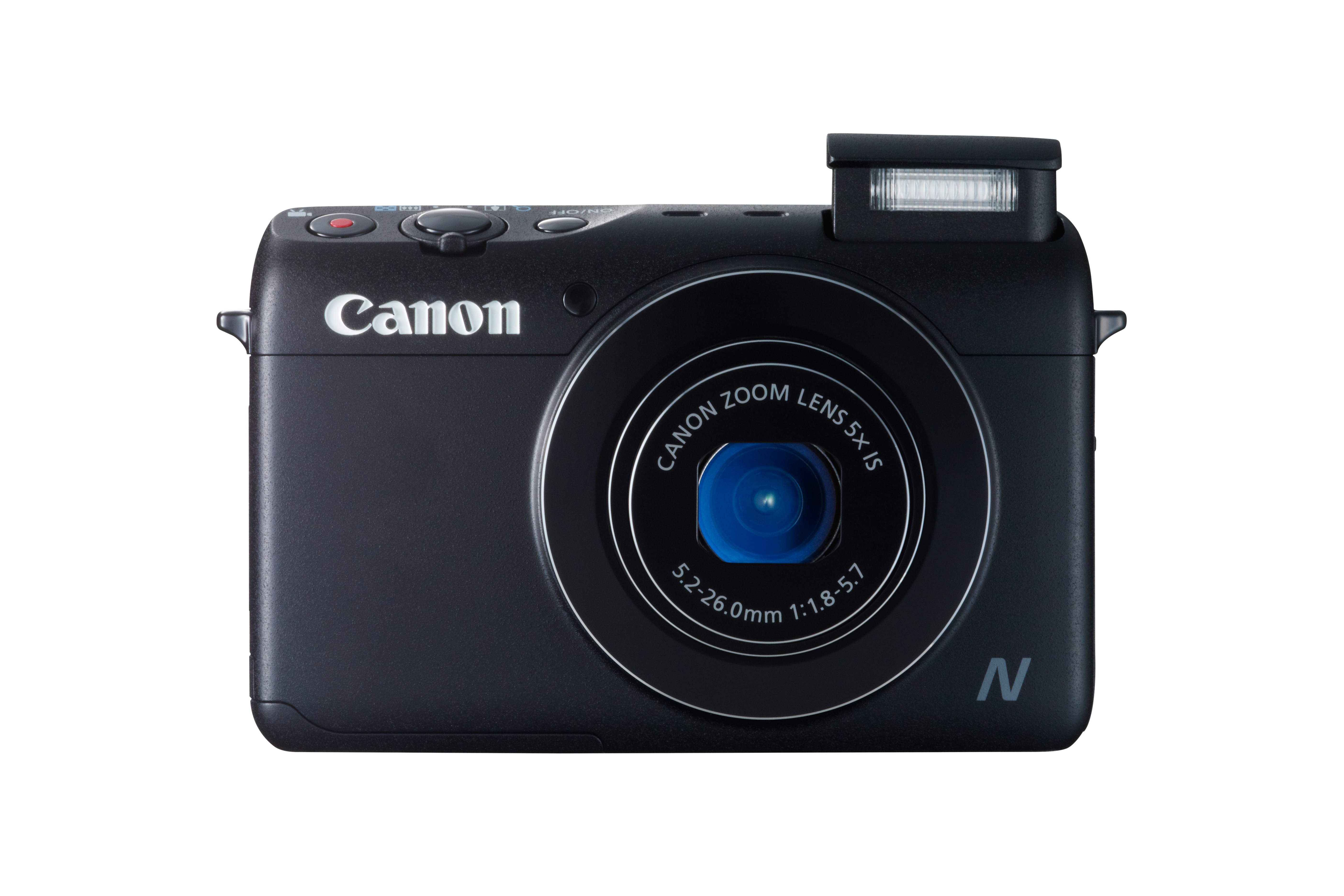 A Powershot N100-as fényképezőgép fehér és fekete színben kerül a boltokba.