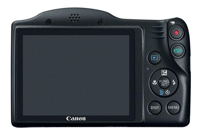 Canon PowerShot SX410 IS kijelzője 7,5 cm-es (3 colos) LCD.