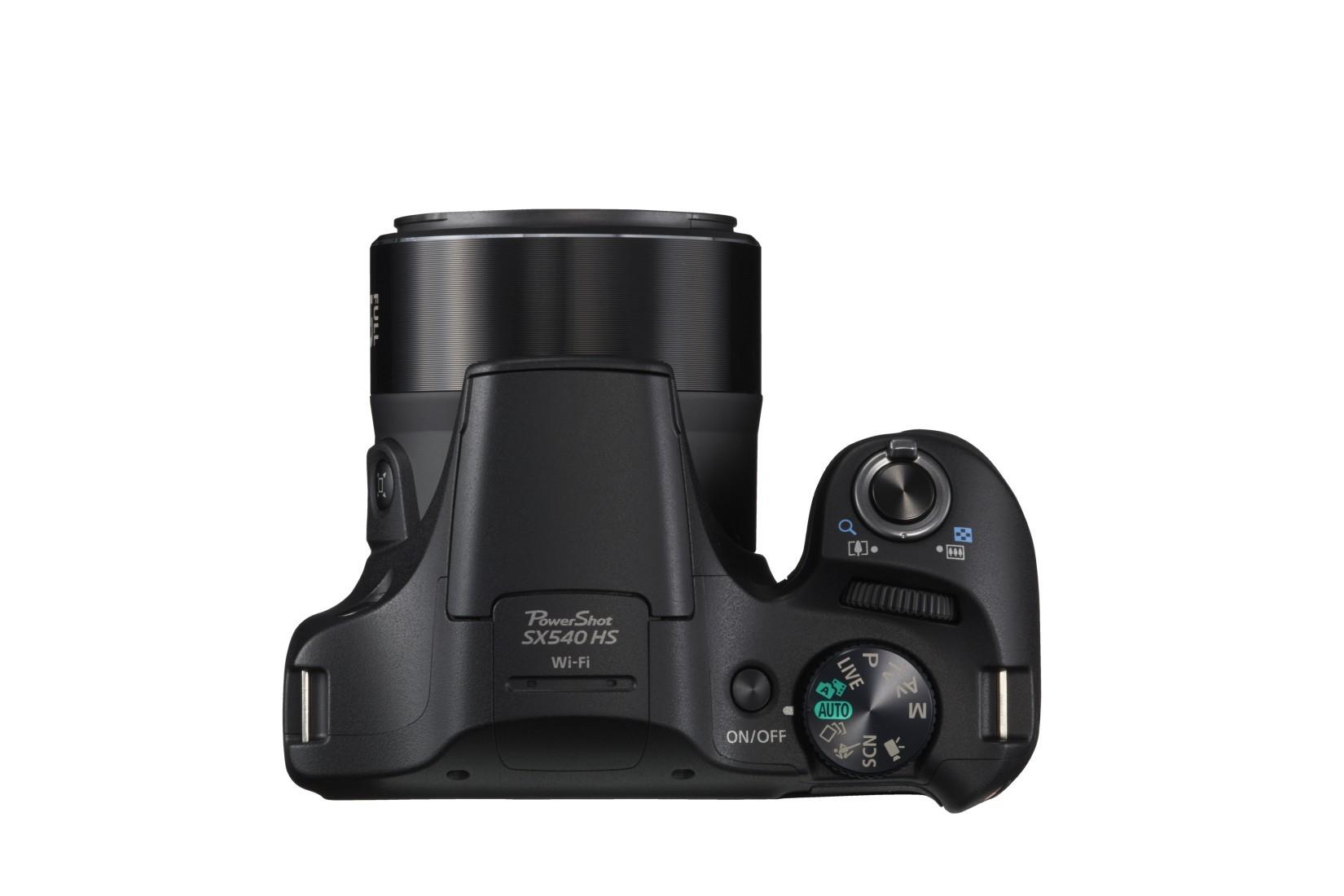 Canon PowerShot SX540 HS-nél 32 témaprogram található, max. 5,9 kép/mp sorozat