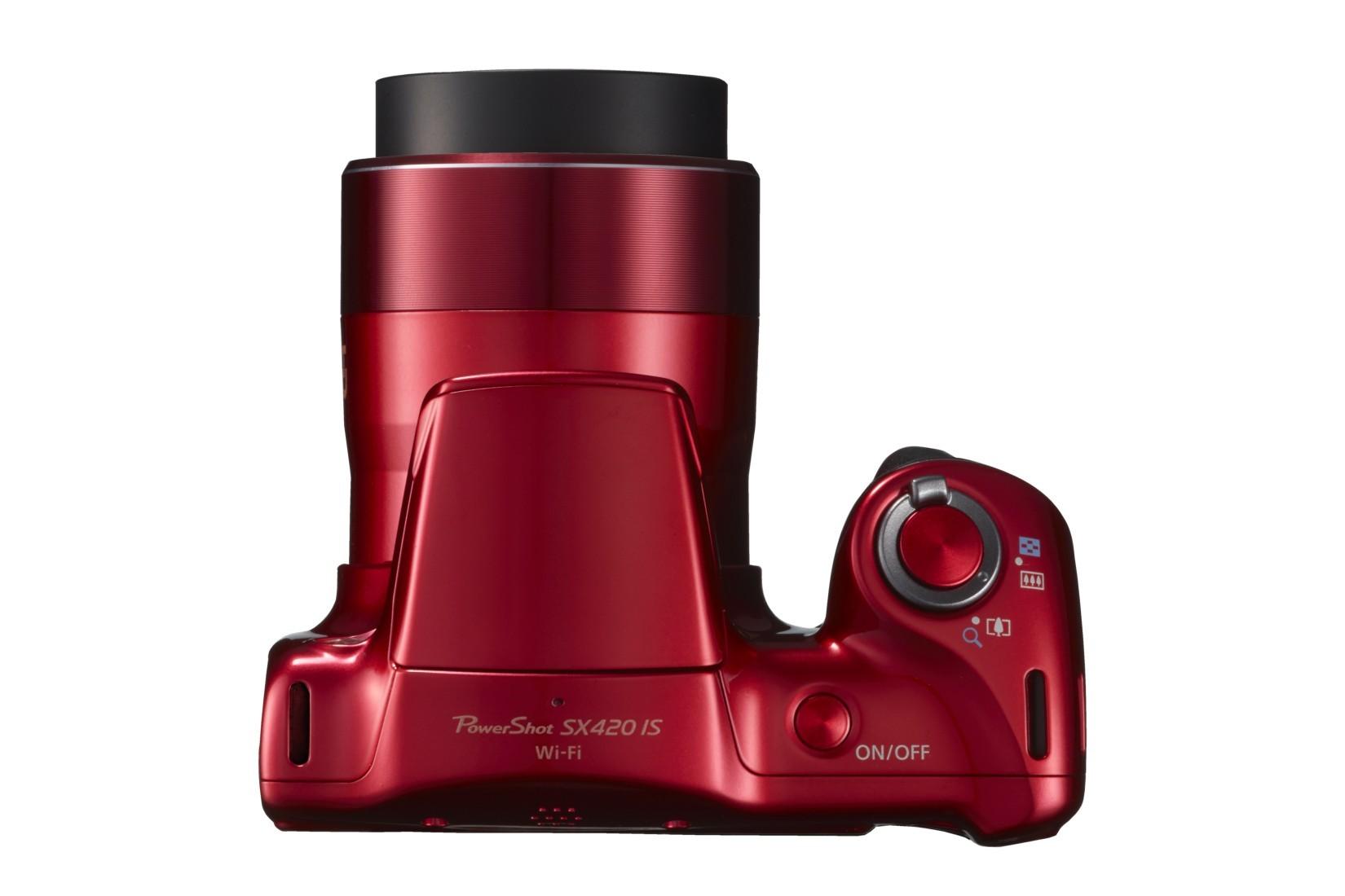 Canon PowerShot SX420 IS 42x-es az optikai zoomja.