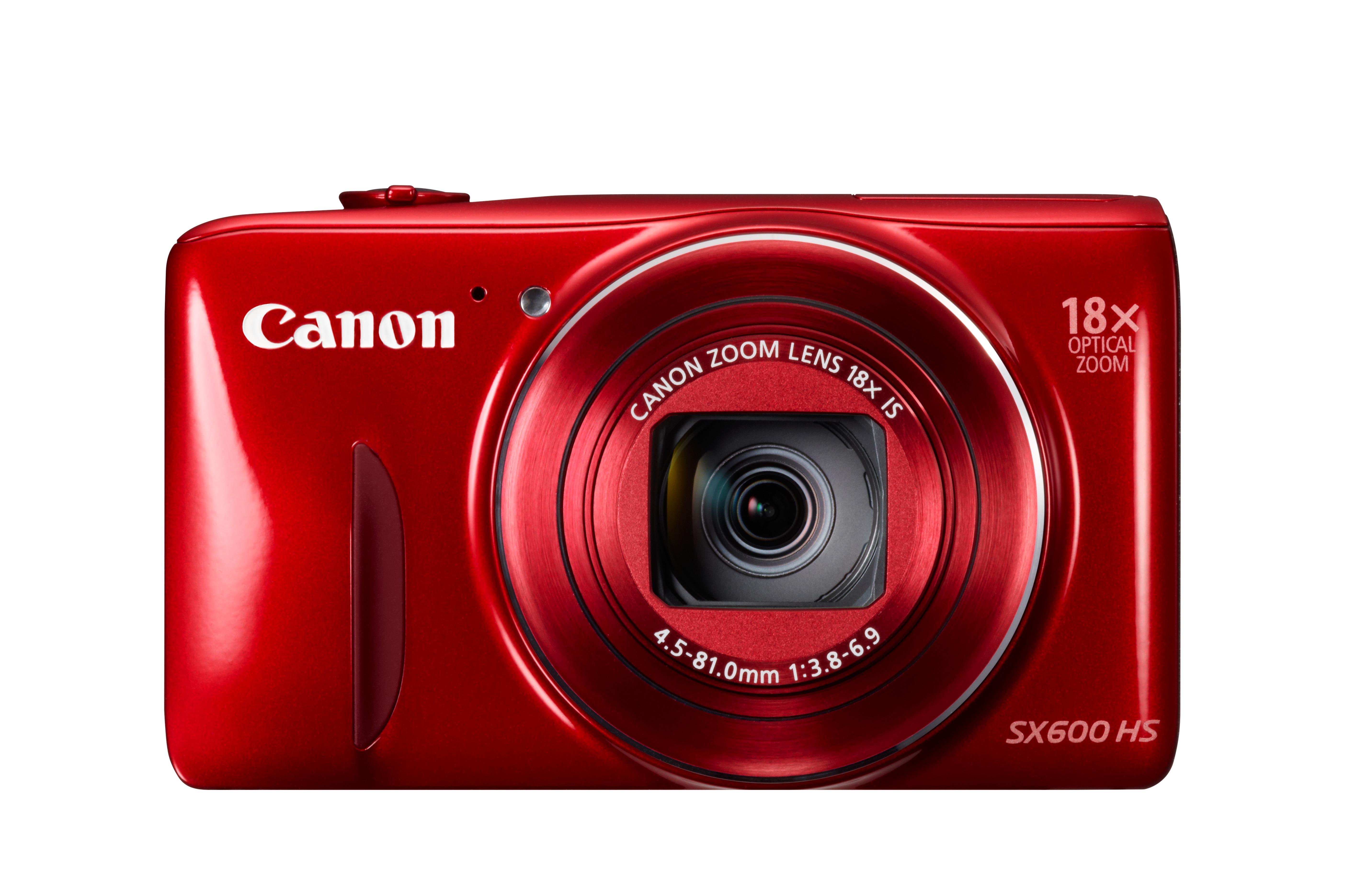 A Canon PowerShot SX600 HS februárban kerül a boltokba, több színben.