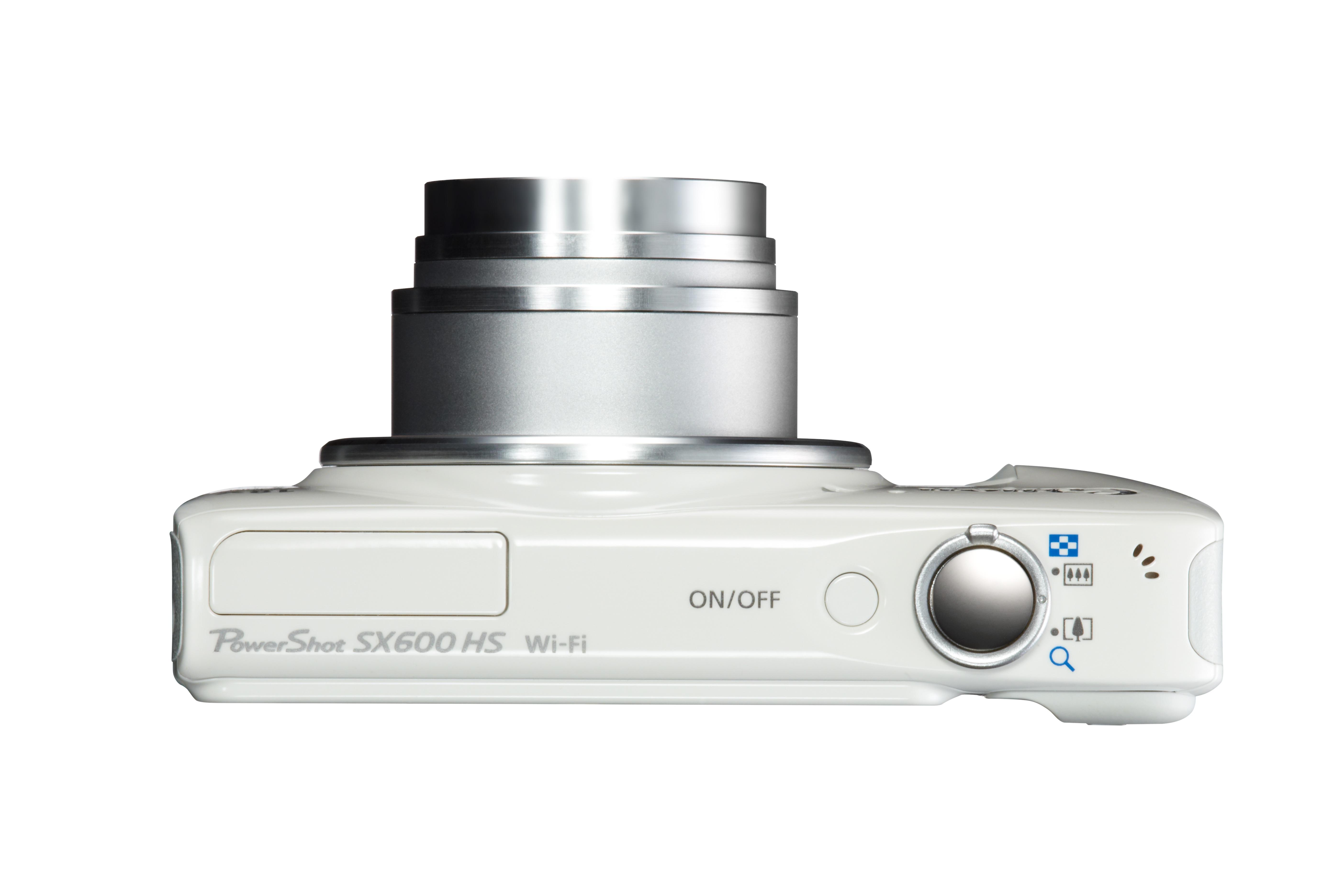 A PowerShot SX600 HS 25-450mm-nek megfelelő (18x-os zoomos) objektívvel rendelkezik.