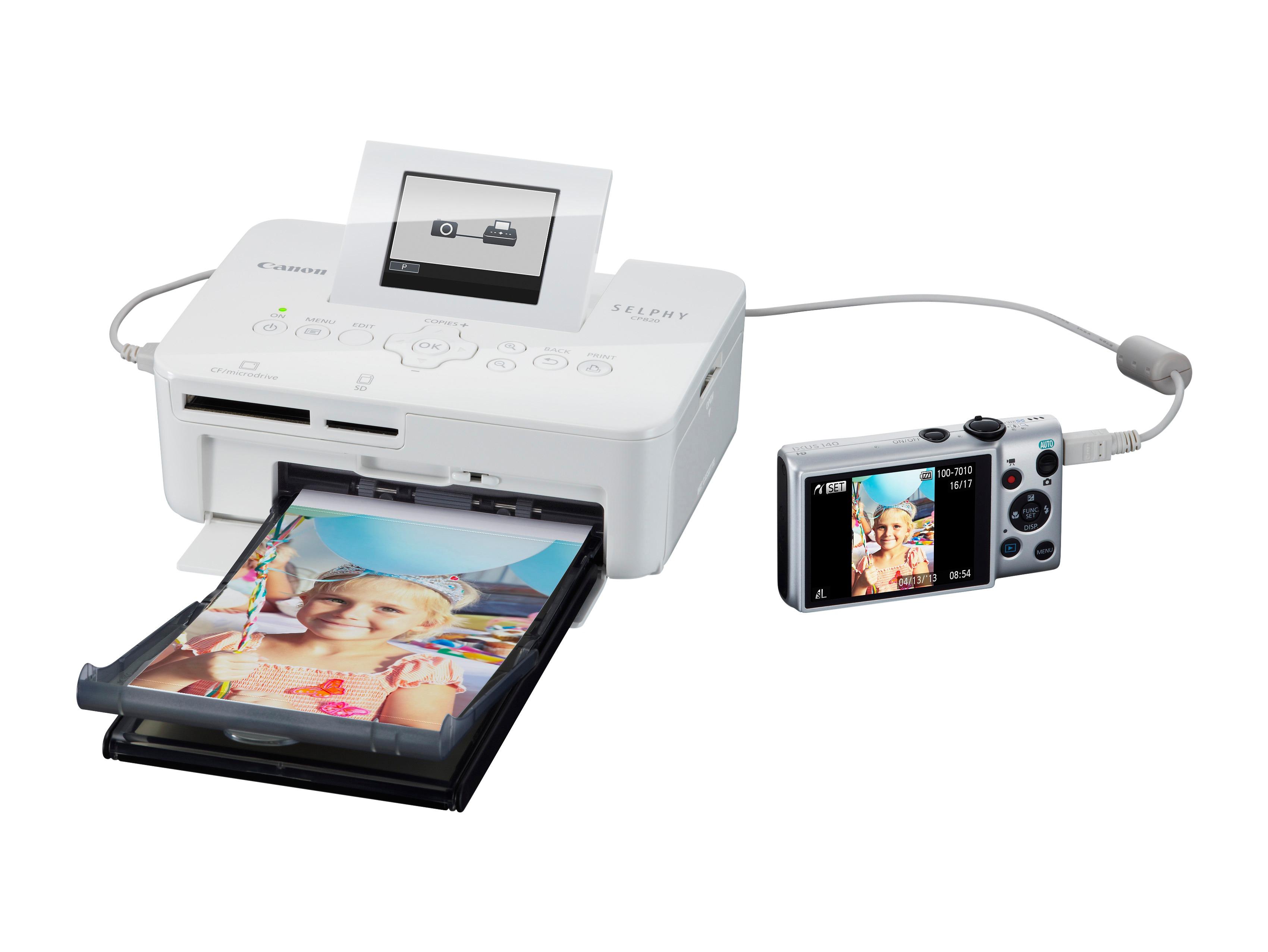 Nyomtatás memóriakártyákról, kamerákról vagy USB-meghajtókról is működik.