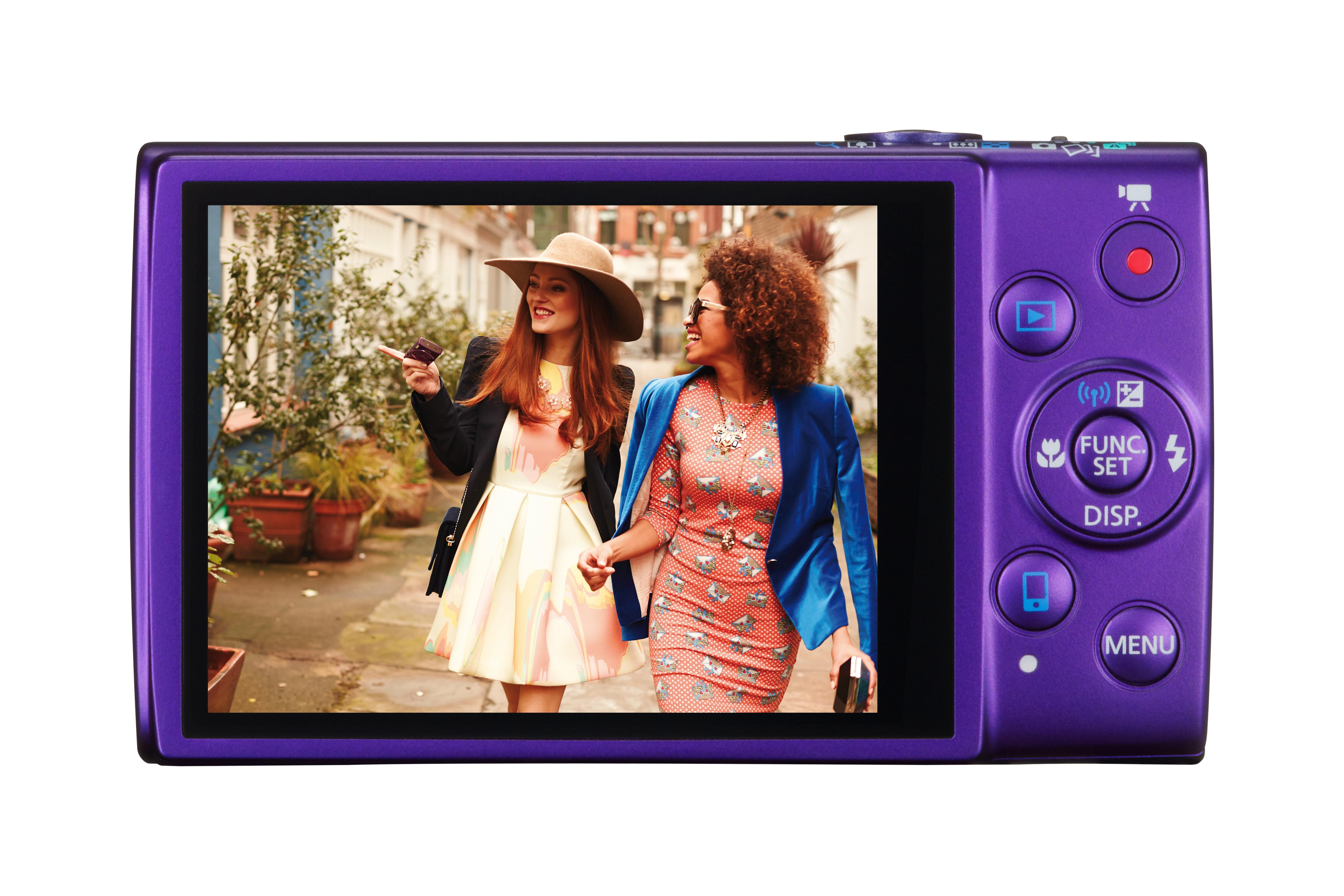 Az IXUS 265 HS Full HD felbontású videókat készít.