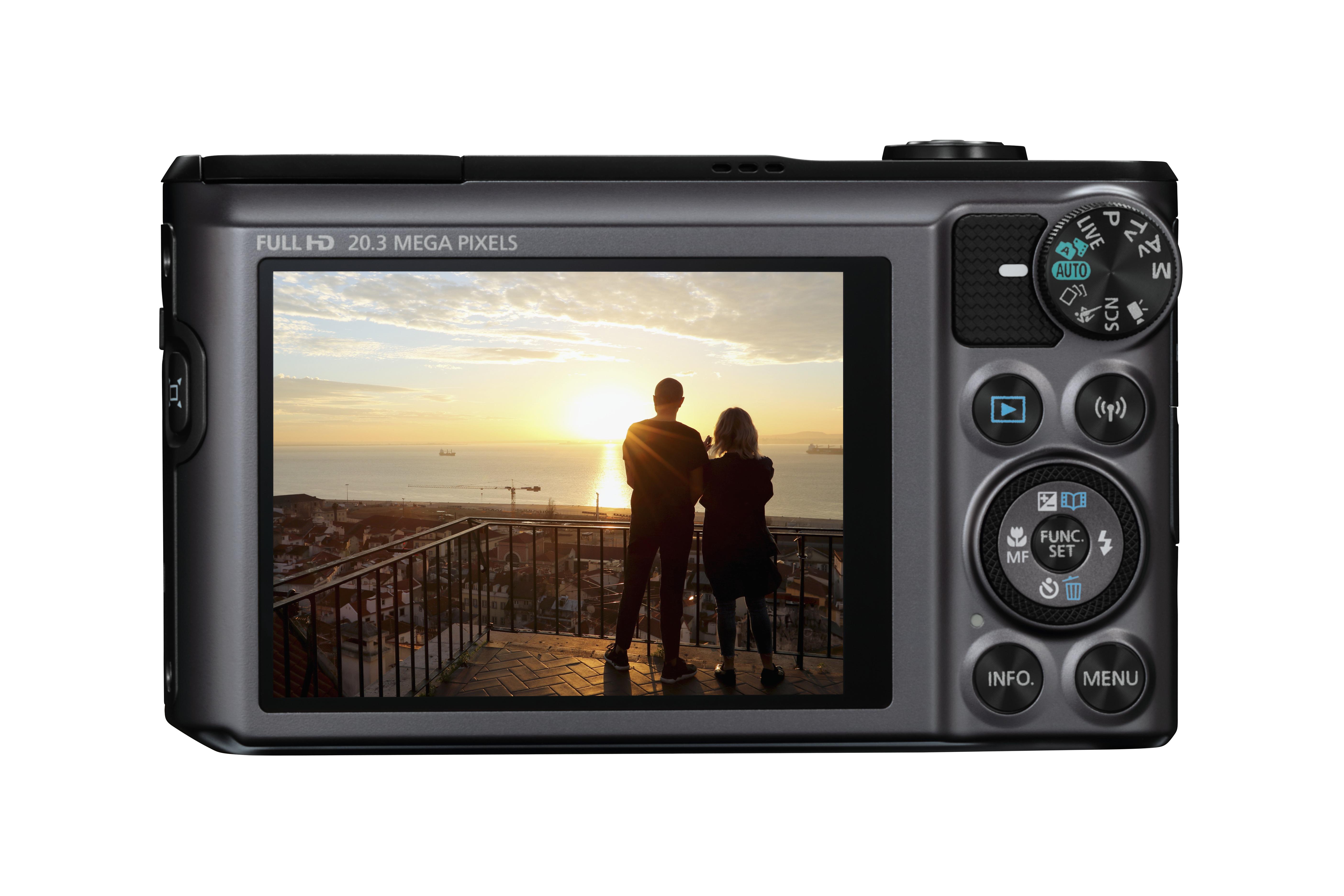 Canon PowerShot SX720 HS 20,3 megapixeles, 3 colos LCD kijelzős fényképezőgép.
