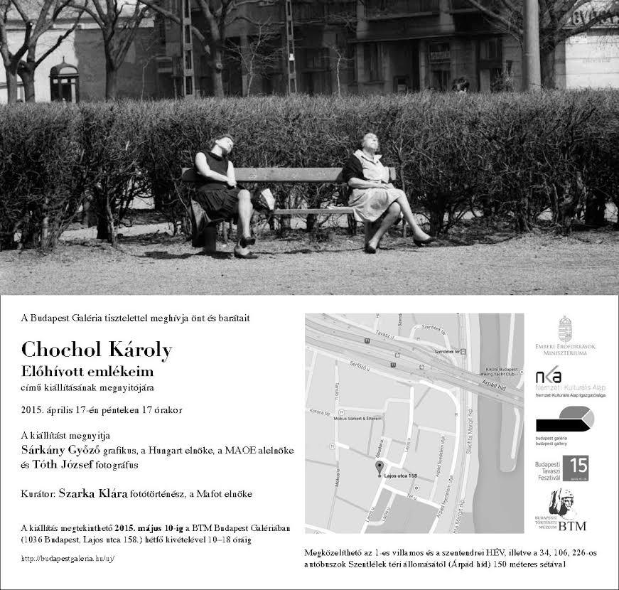 Chochol Károly - Előhívott emlékeim