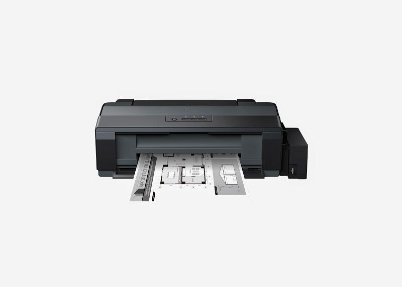 Az Epson L1300-as nyomtató négyszínes tintatartállyal rendelkezik.