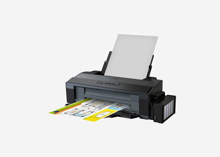 Az Epson L1300 A3+-os tintasugaras nyomtató.