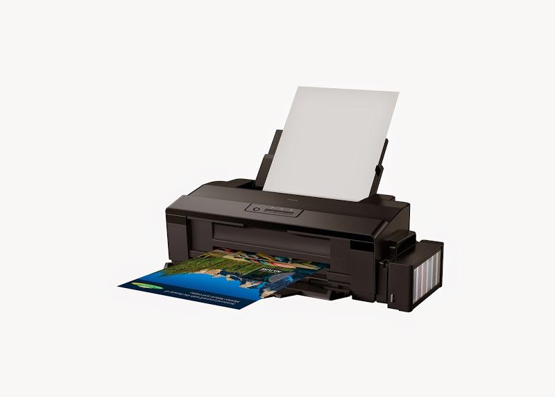 Az Epson L1800-as nyomtató hatszínű tintatartállyal rendelkezik.