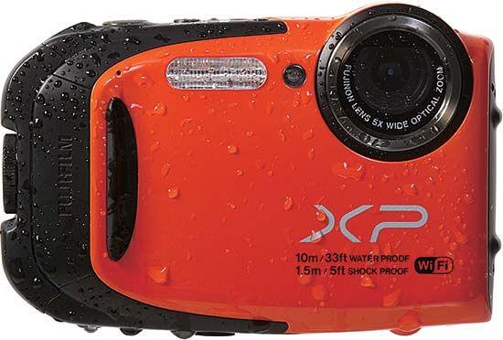 A Fujifilm Finepix XP70-es kompakt fényképezőgép 11 méter mélység víznyomásának is ellenáll.