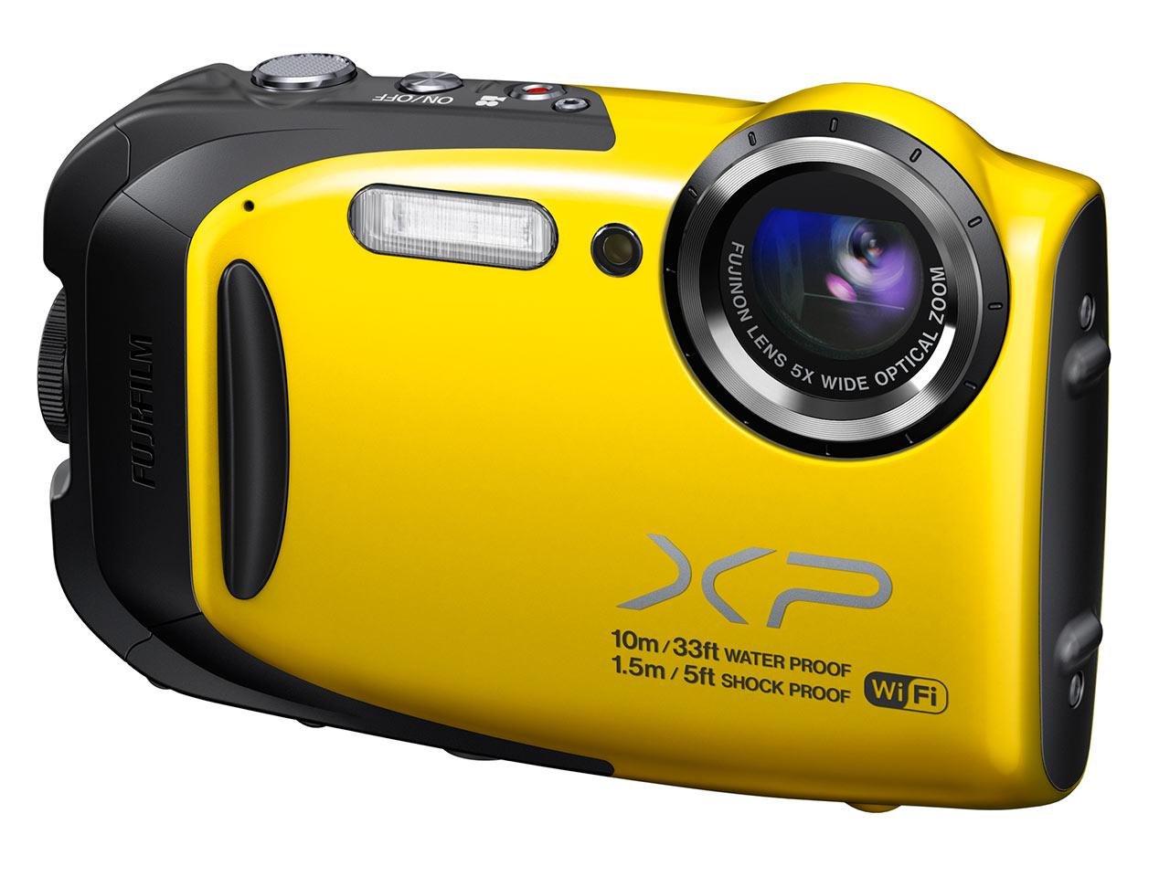 A Finepix XP70 egy 16,4 megapixeles kamerával és egy 1/2,3