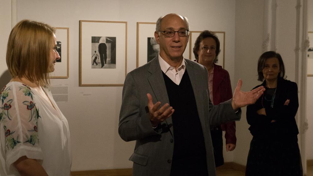 Fotógráfia felsőfokon - Howard Greenberg gyűjteményéből c. kiállítás megnyitója