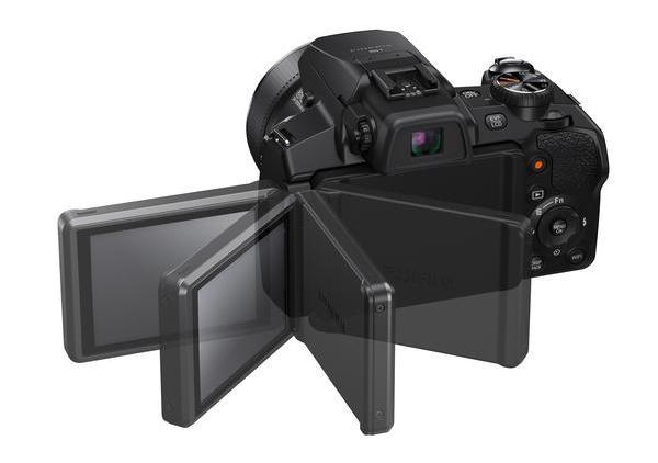 Fujifilm Finepix S1 - kihajtható és forgatható 3