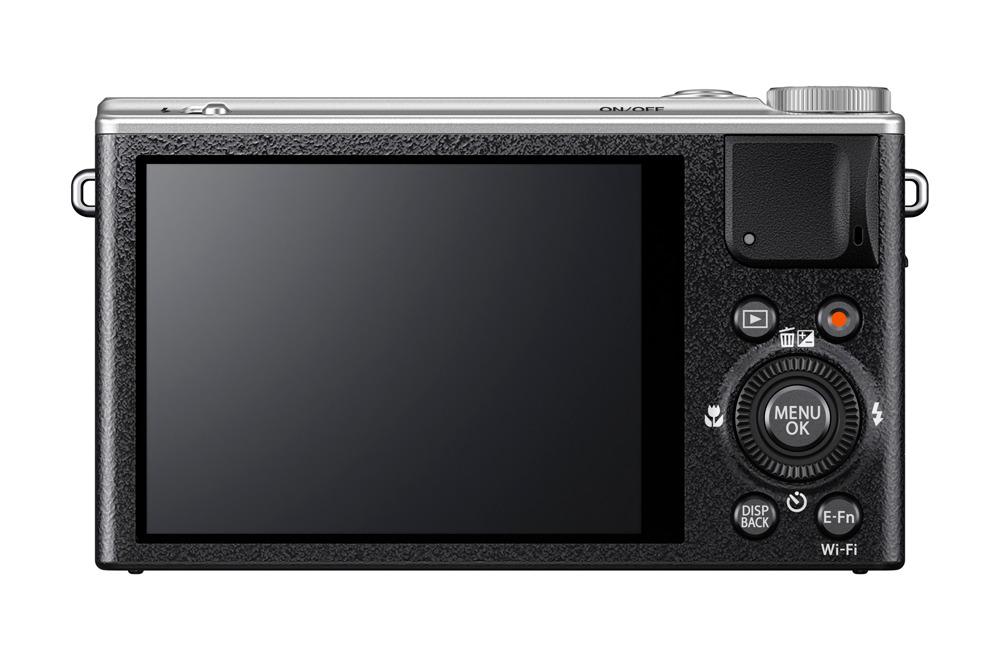 Fujifilm FinePix XQ2 3 colos LCD képernyővel büszkélkedhet.