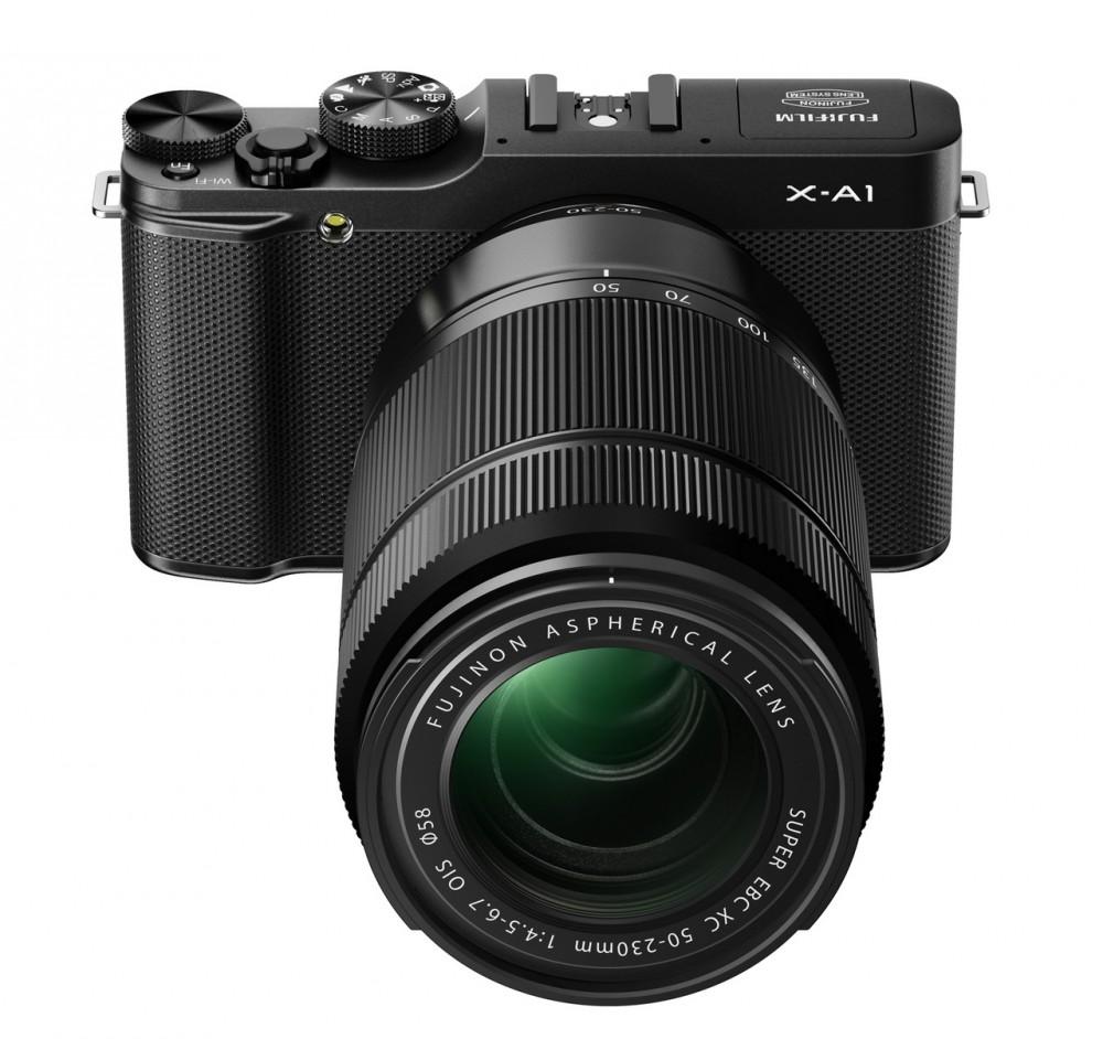 Fujifilm X-A1 az új telezommal