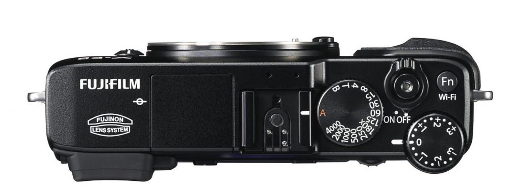 Fujifilm X-E2- felülről a helyzet változatlan