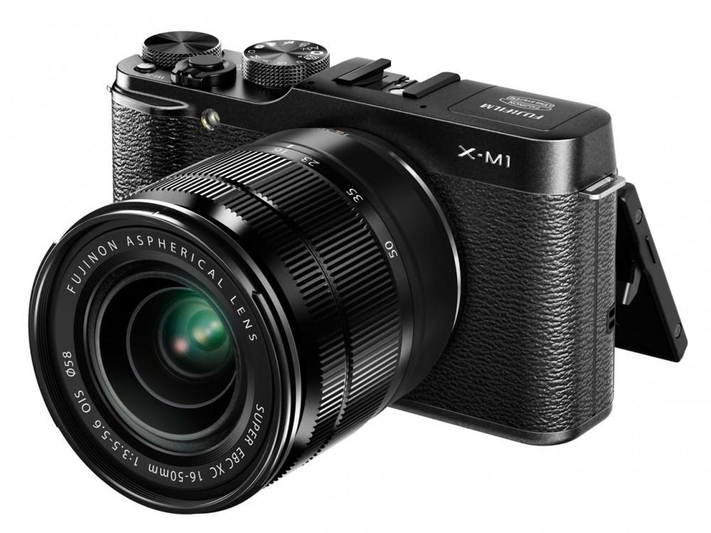 Fujifilm XC 16-50mm f3.5-5.6 OIS az X-M1 vázon
