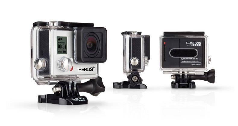 GoPro Hero3+ Black mérete 20%-kal kisebb, mint a Hero3