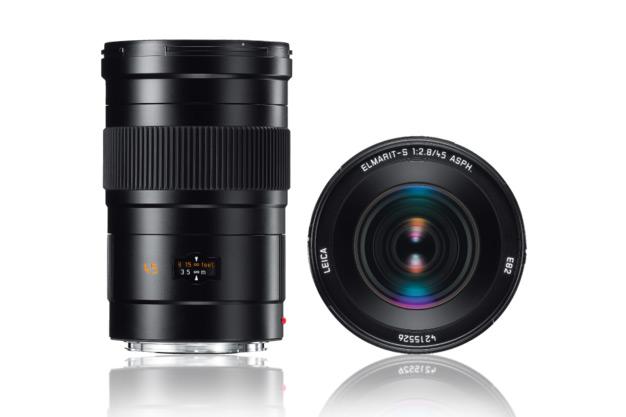 Leica ELMARIT-S 45 mm f/2,8 ASPH 2 változatban kerül a boltokba