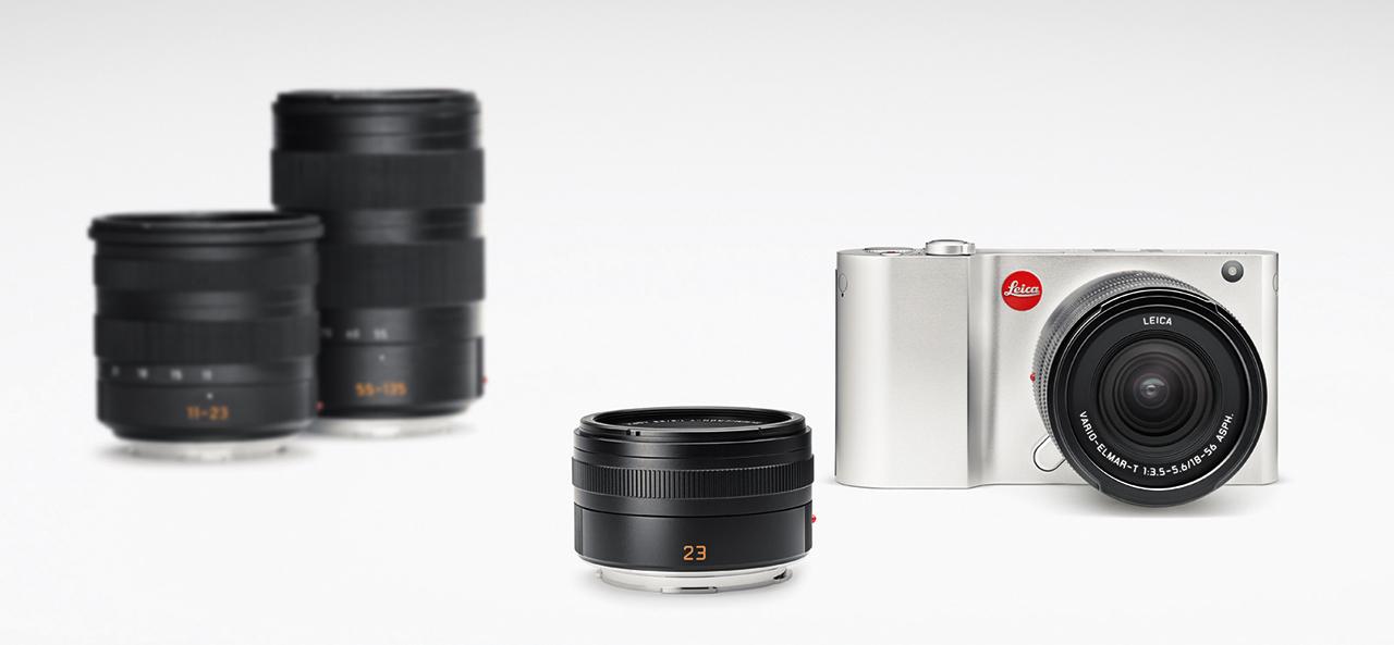 Leica T Typ 701 és az új objektívek