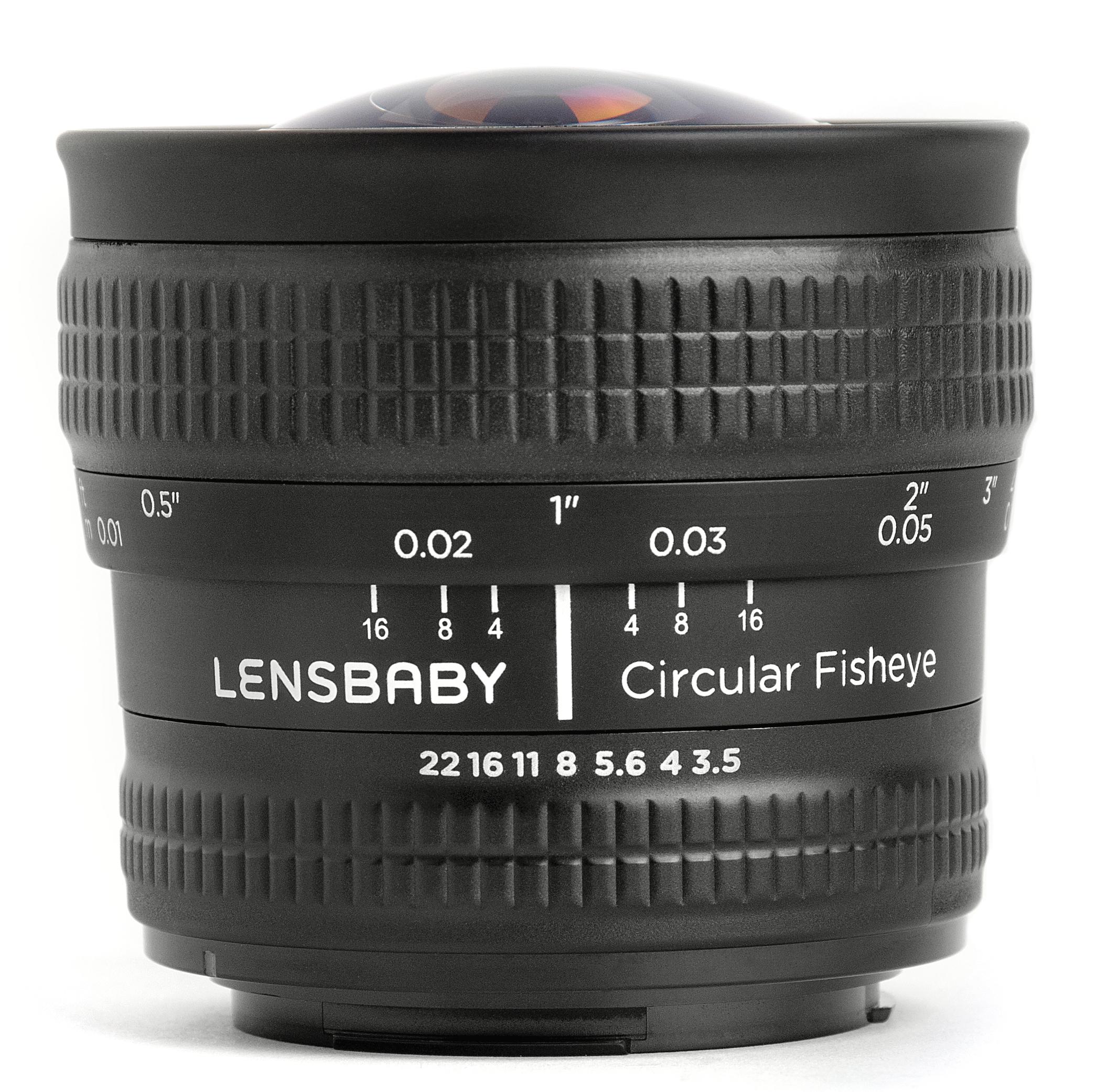 Lensbaby Circular Fisheye 5,8 mm f3.5 halszem objektív