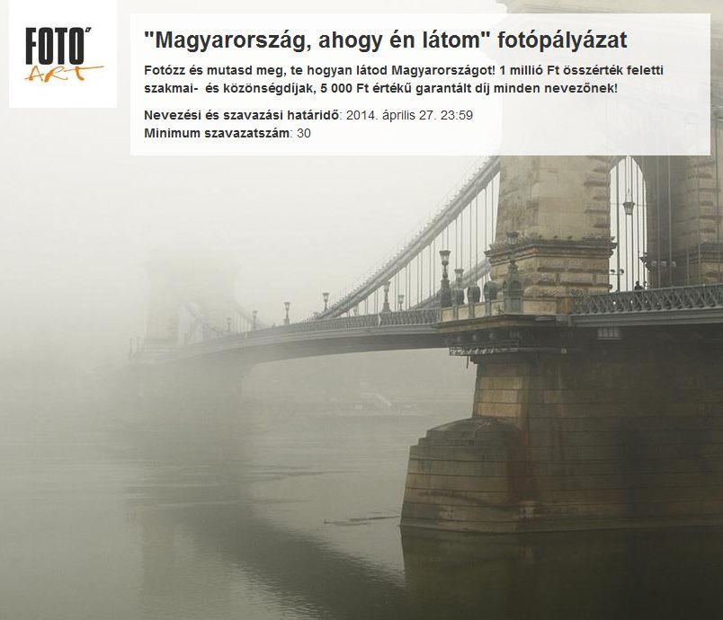 Magyarország ahogy én látom - fotópályázat