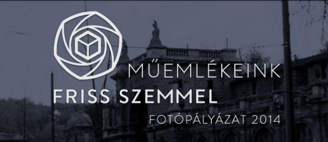 Műemlékeink friss szemmel fotópályázat logó