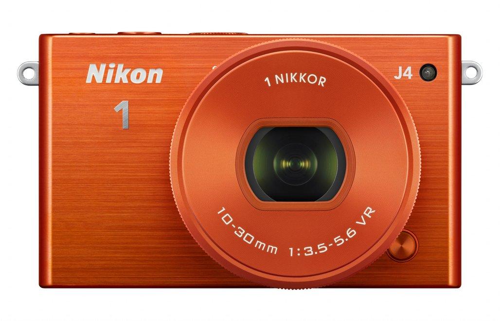 Nikon 1 J4 narancs színben is kapható lesz.