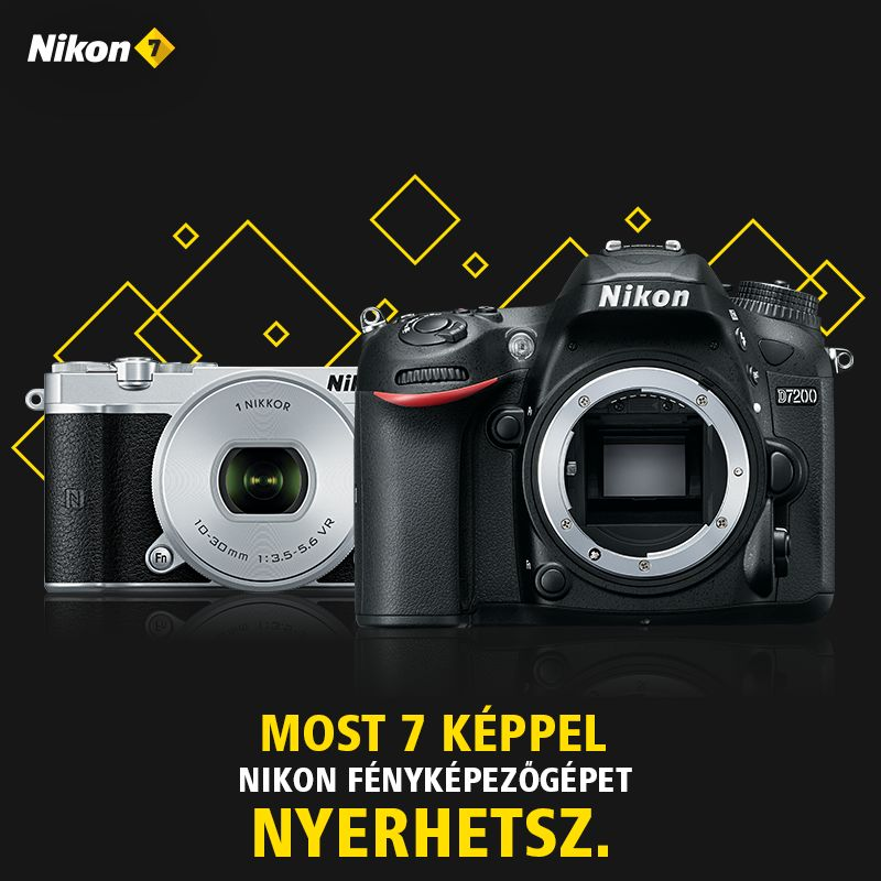 Nikon 7 fotópályázat nyereményei