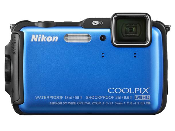 A Coolpix AW 120 16 megapixeles, 5x-ös optikai zoomal rendelkezik.