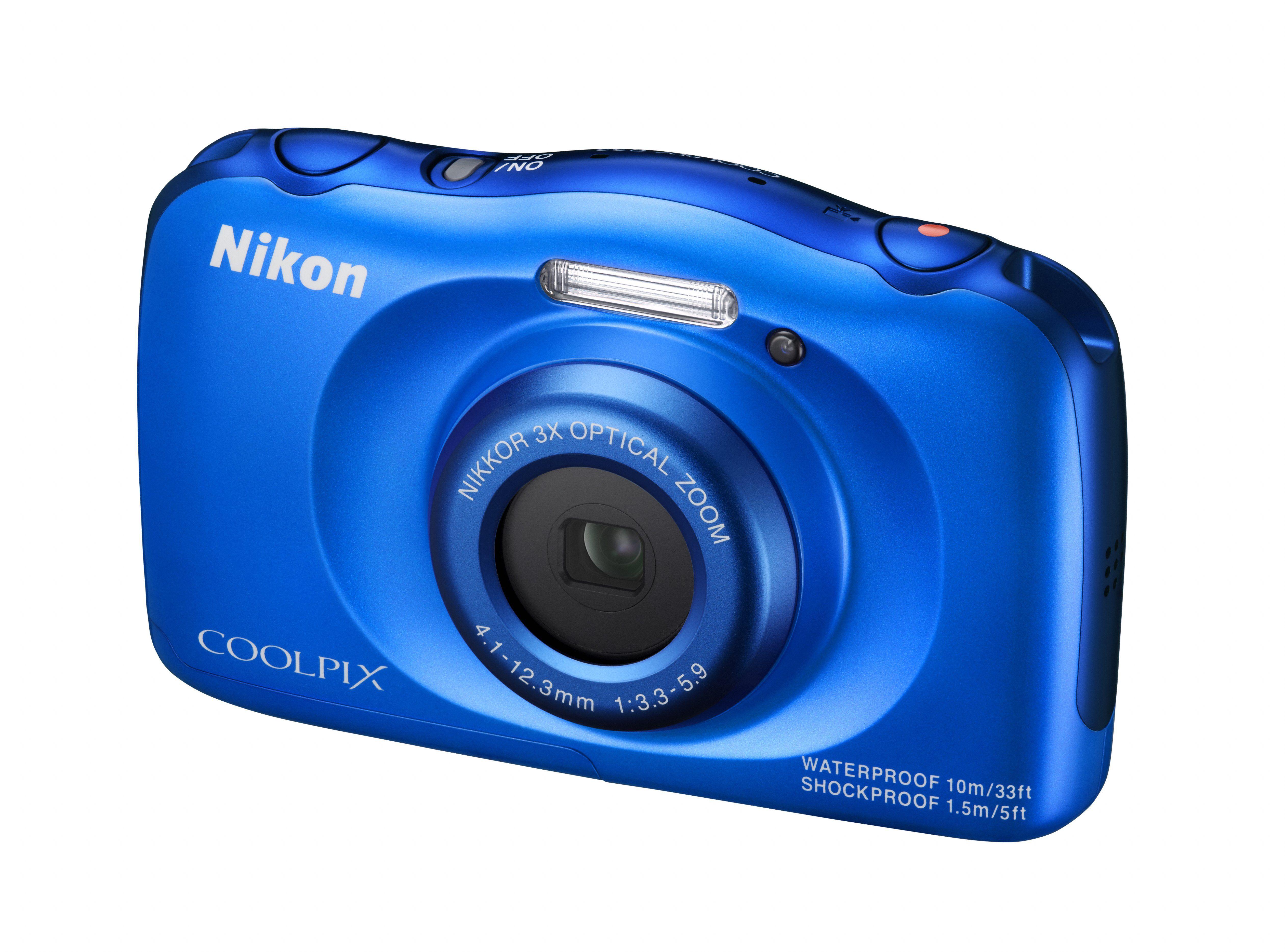Nikon Coolpix S33 13 megapixeles felbontás, 3x-os optikai zoomos kompakt.