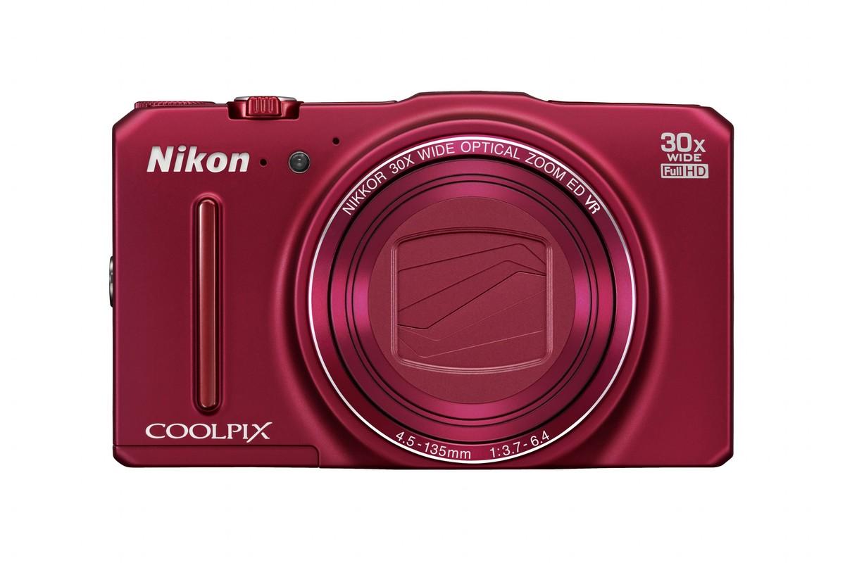 Nikon Coolpix S9700 16 megapixeles BSI-CMOS szenzoros fényképezőgép.