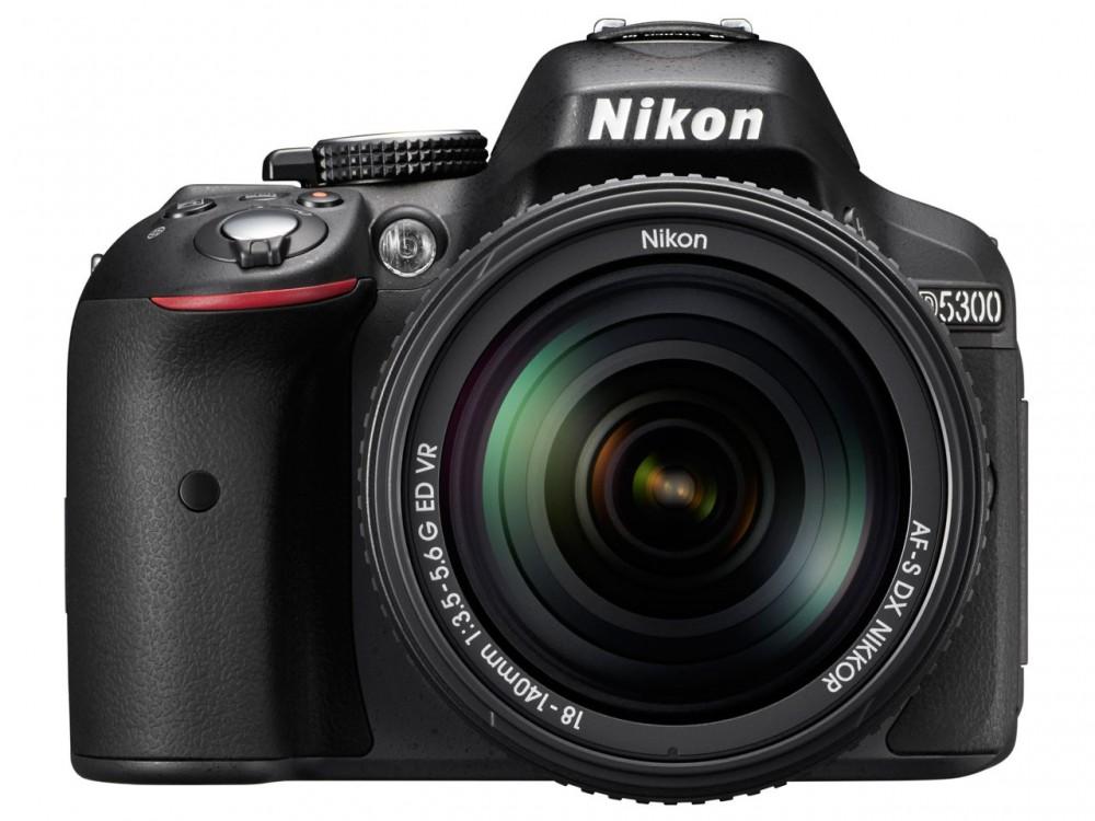 Nikon D5300 képérzékelője 24,2 megapixeles.