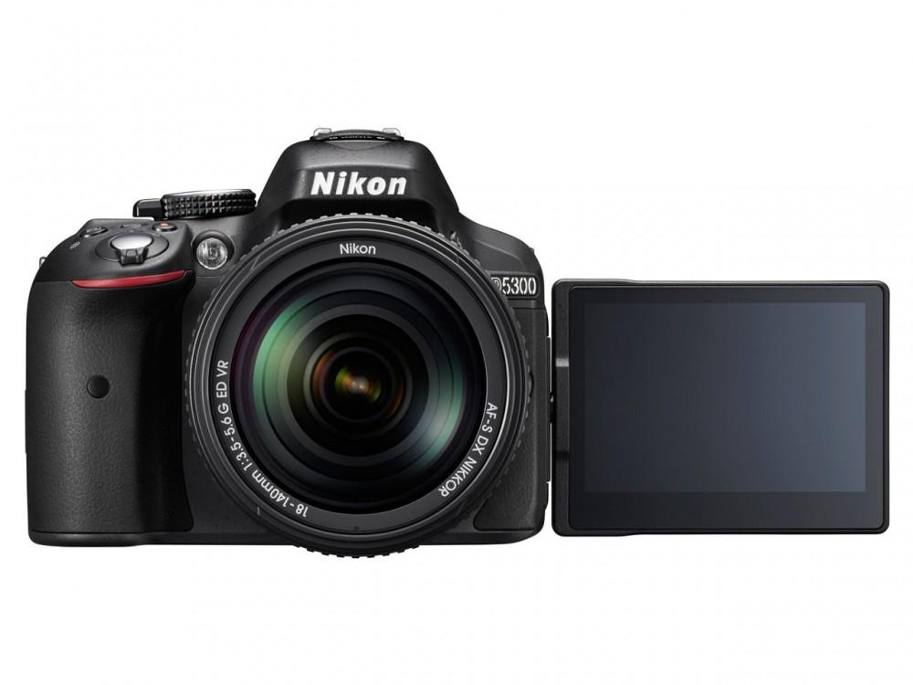 A Nikon D5300 Beépített Wi-Fi-vel és GPS-szel rendelkezik.