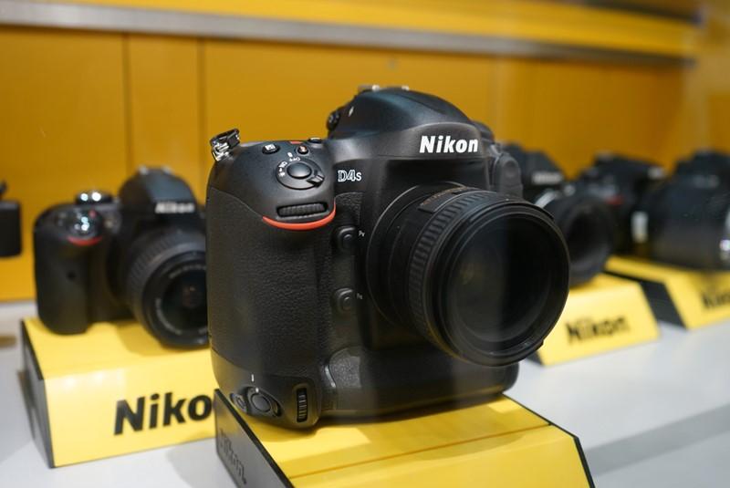 Nikon D4S a las vegasi CES kiállításon