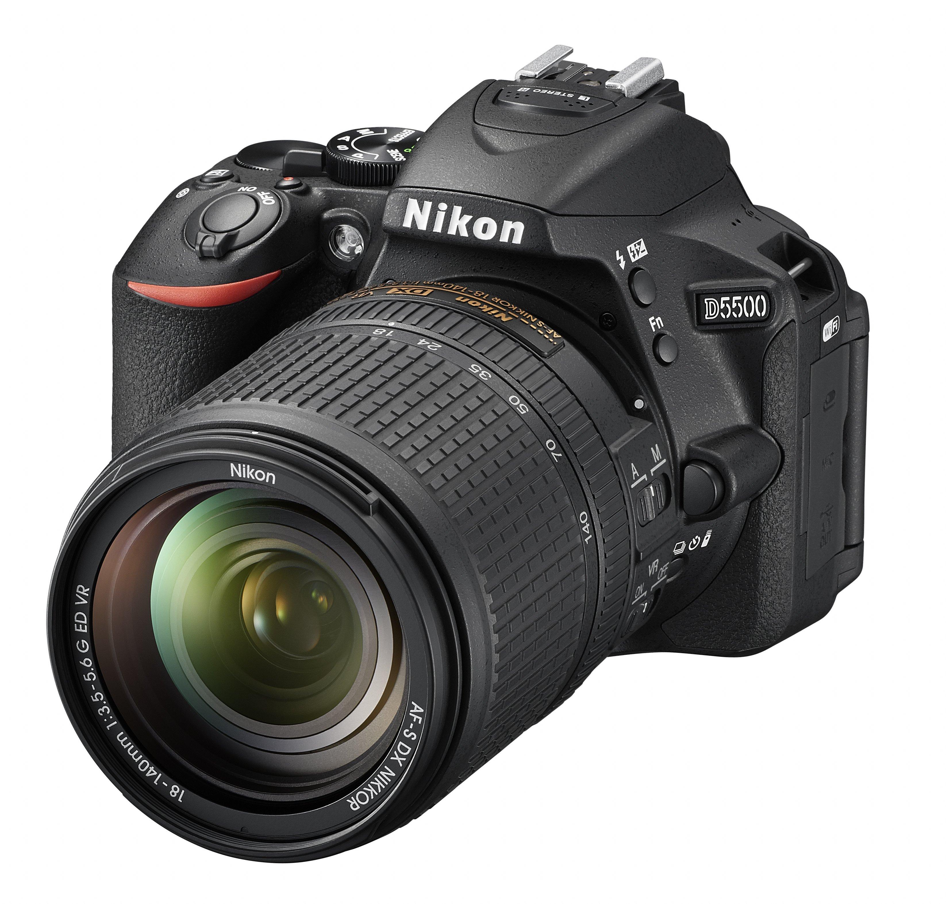 A Nikon D5500 újdonsága a beépített Wi-Fi.