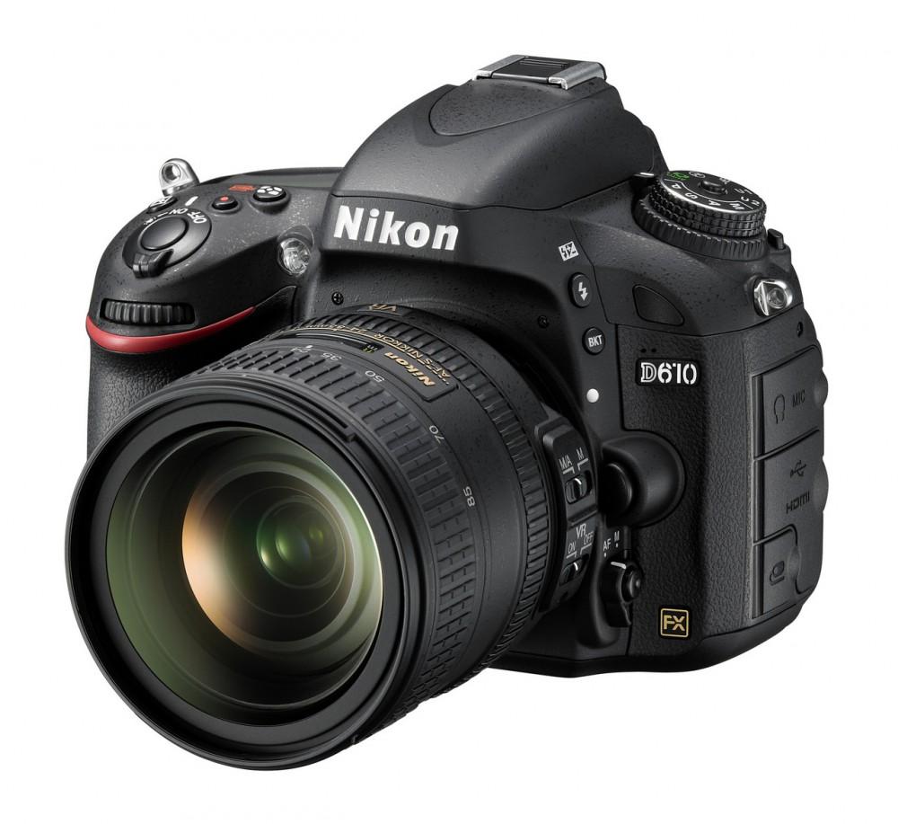 Nikon D610 FX full frame szenzorral