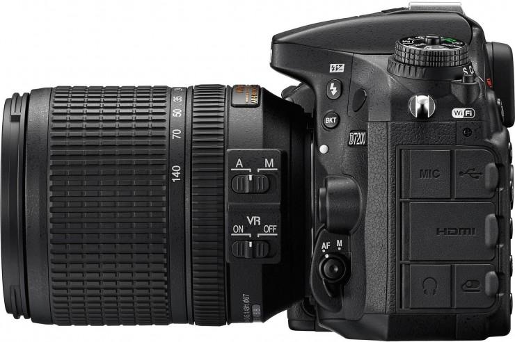 A Nikon D7200-as Nikkor 18-140mm-es obival kitben 1700 dollár áron kerül a boltokba.