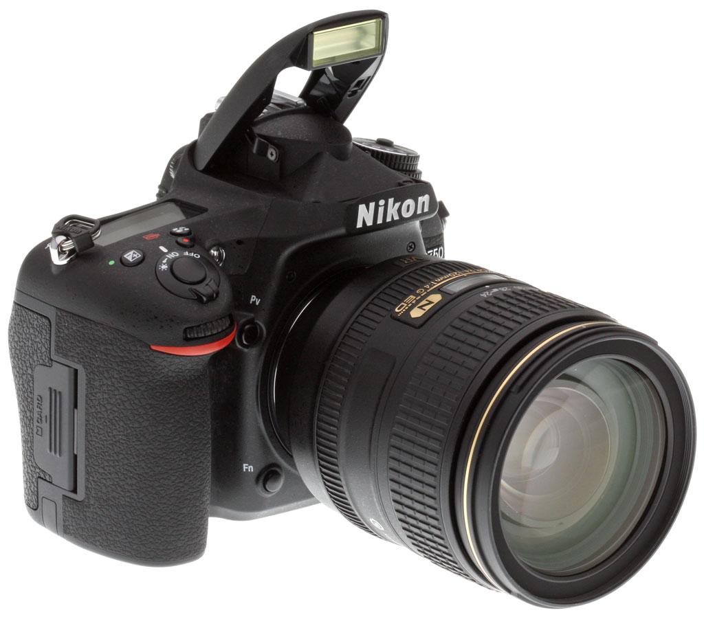 A Nikon D750 időjárásálló. fémborítást kapott