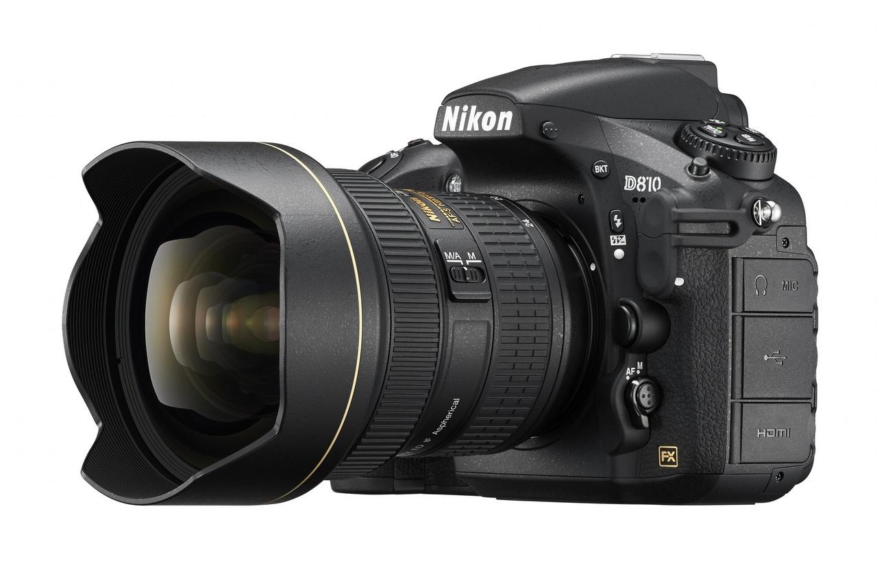 Nikon D810 a 14-24mm Nikkor lencsével