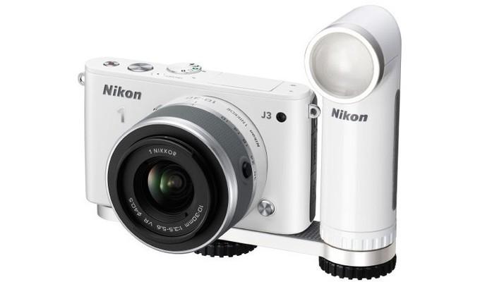 Nikon LD-1000 fehér színben